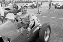 HWM F2 Duncan Hamilton at Winfield Scotland 1951